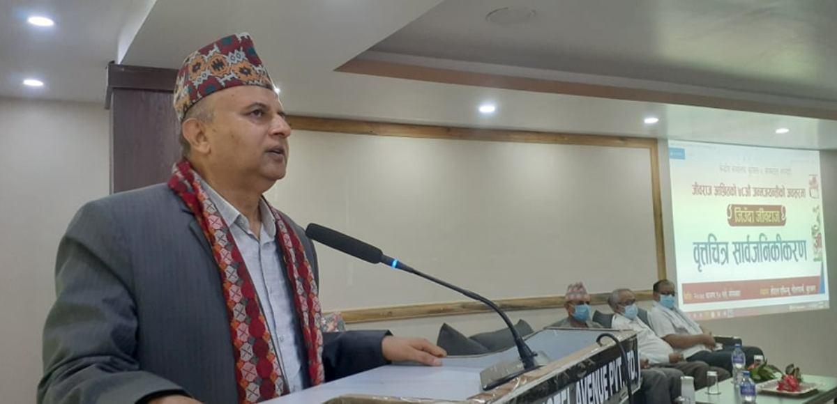प्रचण्डका कारण देशमा राजनीतिक संकट : लुम्बिनीका मुख्यमन्त्री पोखरेल